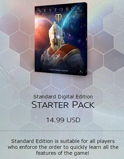 Skyforge Starter Pack